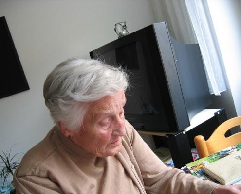 volmacht dame op leeftijd